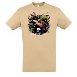 XXX3 montázs sand férfi póló