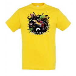 XXX3 montázs gold férfi póló