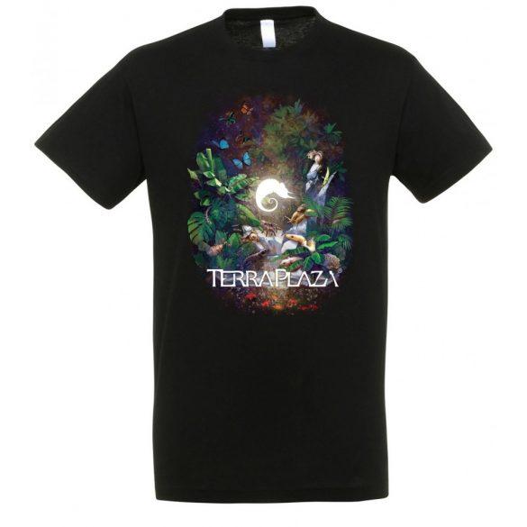 TerraPlaza Jungle XXX8 black férfi póló