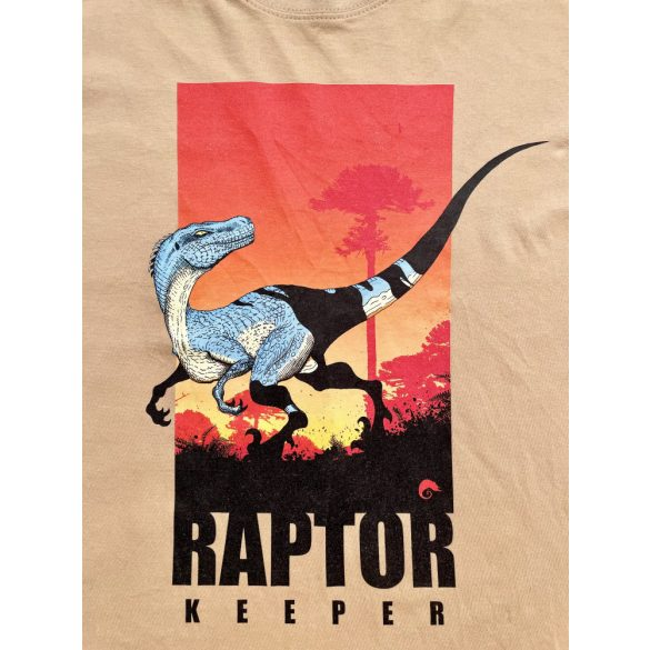 Raptor keeper sand férfi póló