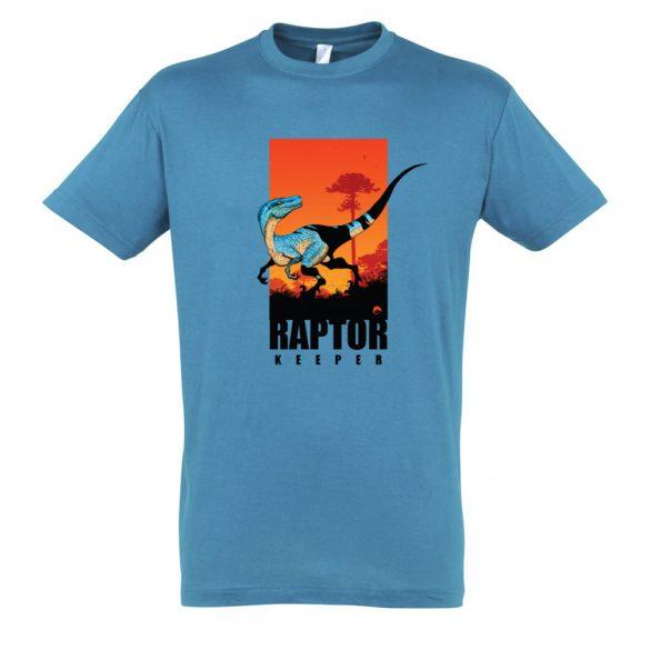 Raptor keeper aqua férfi póló