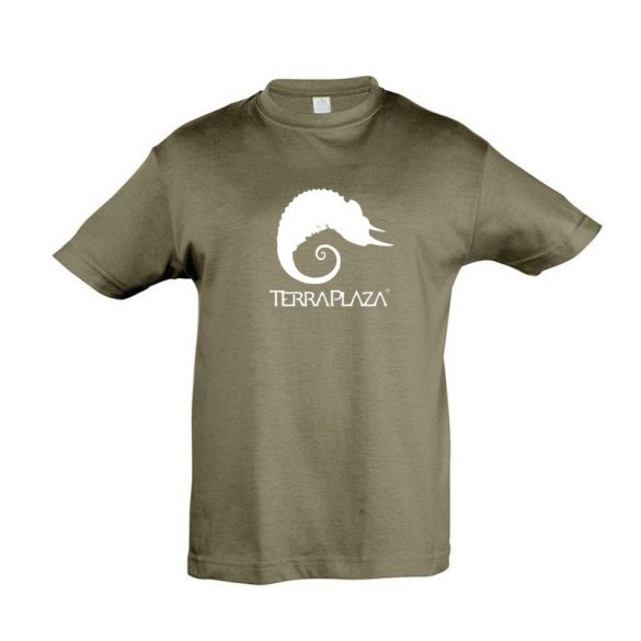TerraPlaza simple logo army gyermek póló