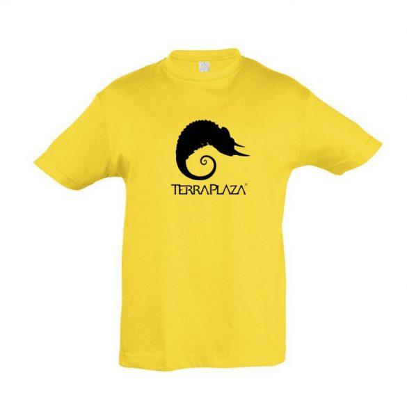 TerraPlaza simple logo gold gyermek póló