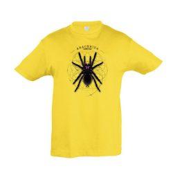 Xenesthis sp. Arachnida gold gyermek póló