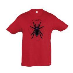 Xenesthis sp. Arachnida red gyermek póló
