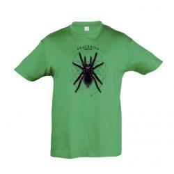 Xenesthis sp. Arachnida kelly green gyermek póló