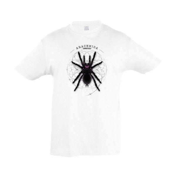 Xenesthis sp. Arachnida fehér gyermek póló