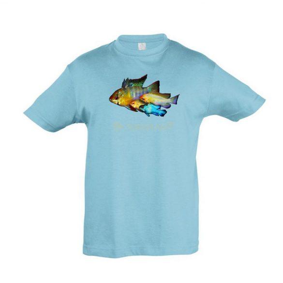 Ramirezi atoll blue gyermek póló