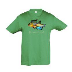 Ramirezi kelly green gyermek póló