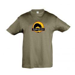 2019 október TerraPlaza logo army gyermek póló