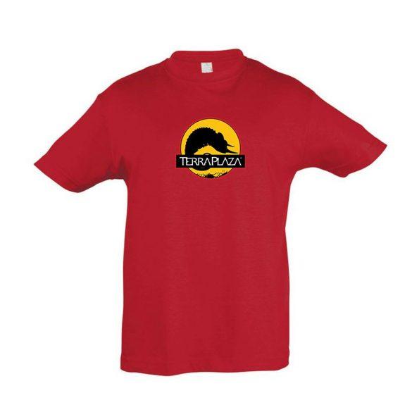 2019 október TerraPlaza logo red gyermek póló
