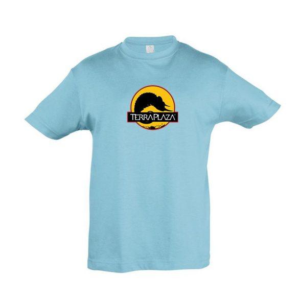 2019 október TerraPlaza logo atoll blue gyermek póló