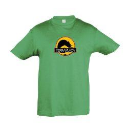2019 október TerraPlaza logo kelly green gyermek póló