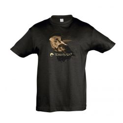 Phrynosoma fekete gyermek póló