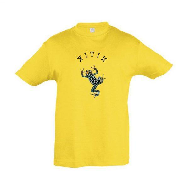 Dendrobates gold gyermek póló