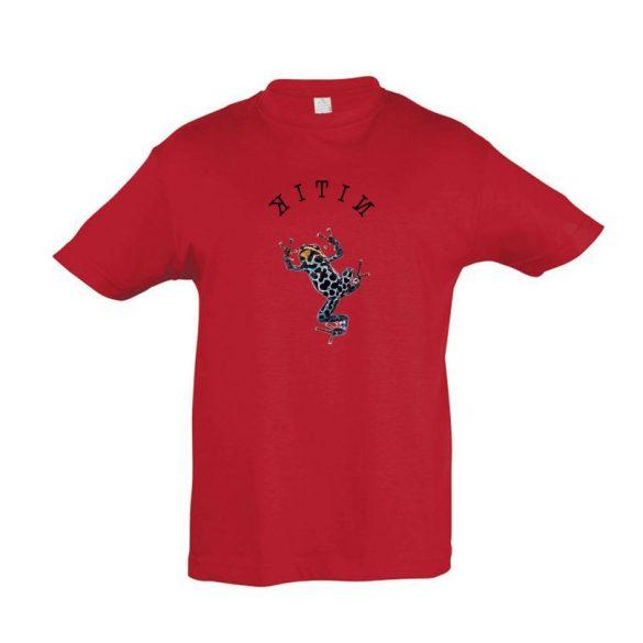 Dendrobates red gyermek póló