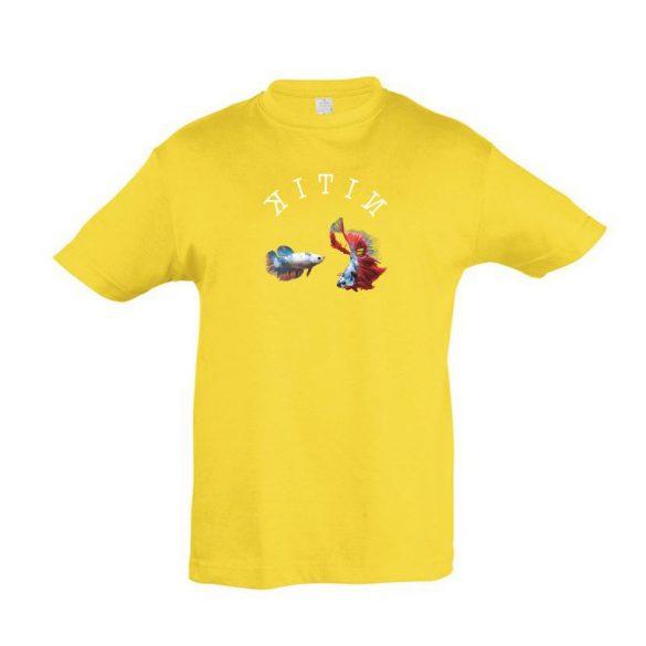 Betta splendens gold gyermek póló