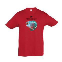 Furcifer pardalis XXX5 red gyermek póló