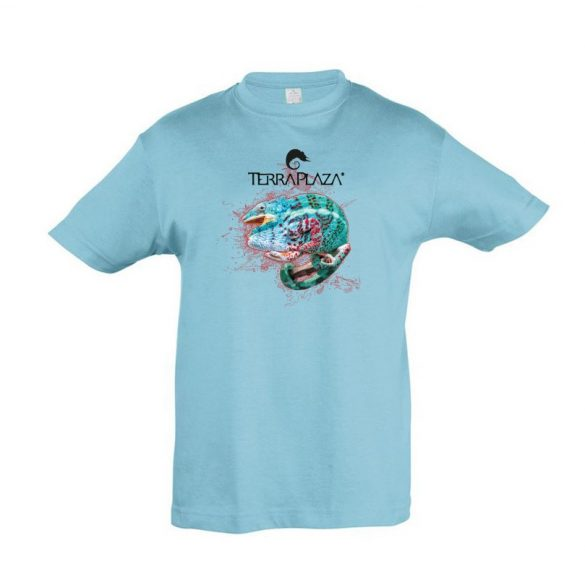 Furcifer pardalis XXX5 atoll blue gyermek póló