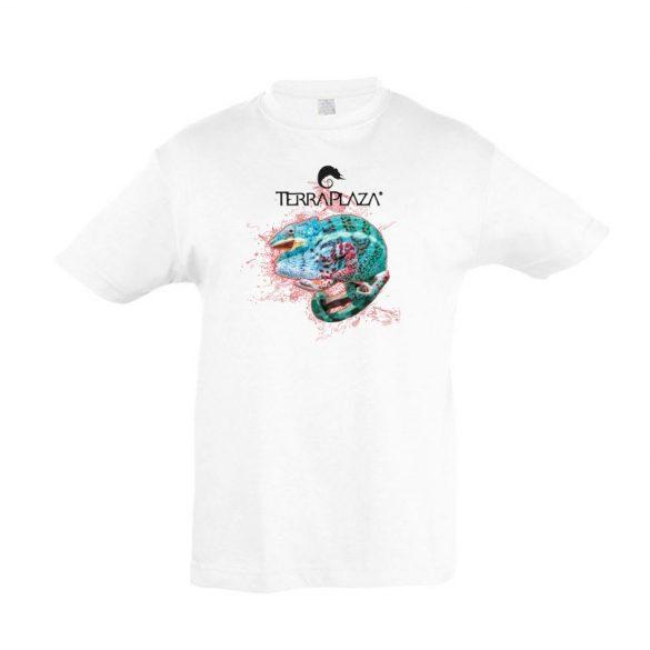 Furcifer pardalis XXX5 fehér gyermek póló