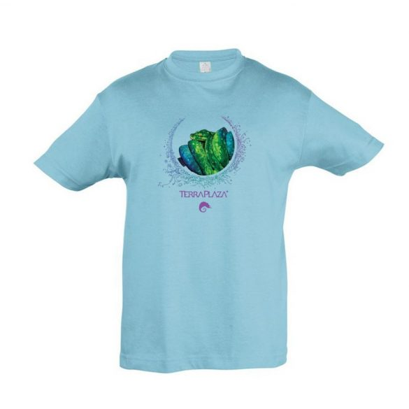 Morelia viridis XXX7 atoll blue gyermek póló