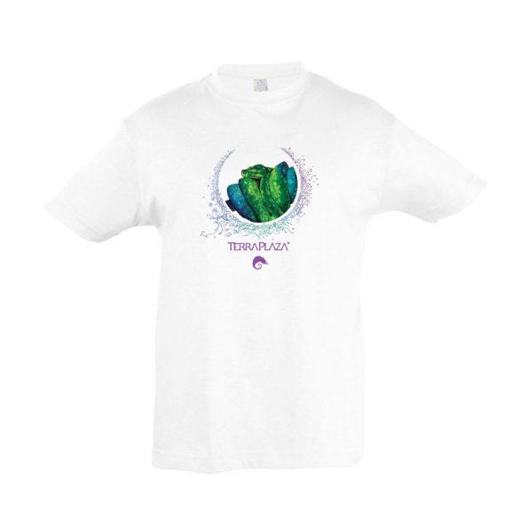 Morelia viridis XXX7 fehér gyermek póló
