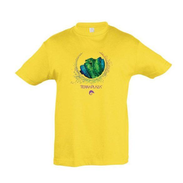 Morelia viridis XXX7 gold gyermek póló