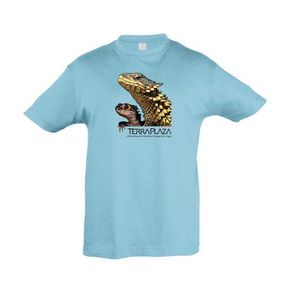 Dragons atoll blue gyermek póló