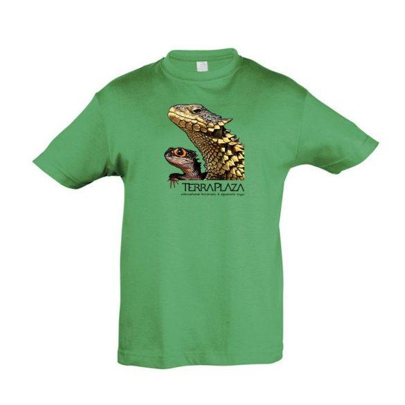 Dragons kelly green gyermek póló