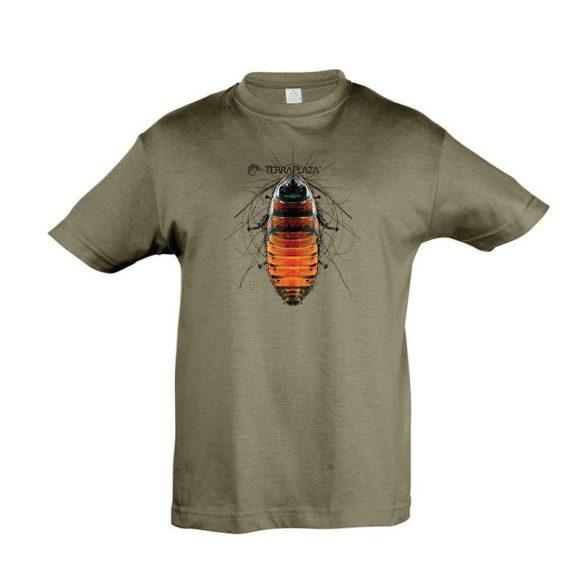 Gromphadorhina army gyermek póló