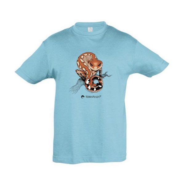 Aeluroscalabotes felinus atoll blue gyermek póló