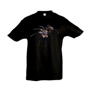 Monocentropus balfouri madárpók black gyermek póló