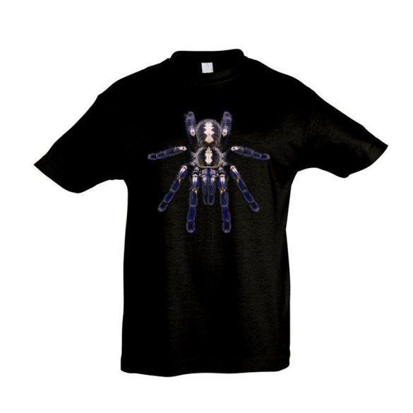 Poecilotheria metallica madárpók black gyermek póló