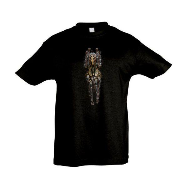 Poecilotheria ornata #1 madárpók black gyermek póló