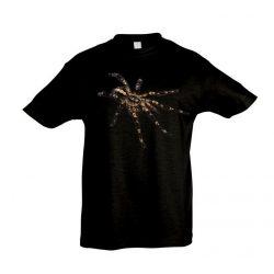 Poecilotheria ornata #2 madárpók black gyermek póló