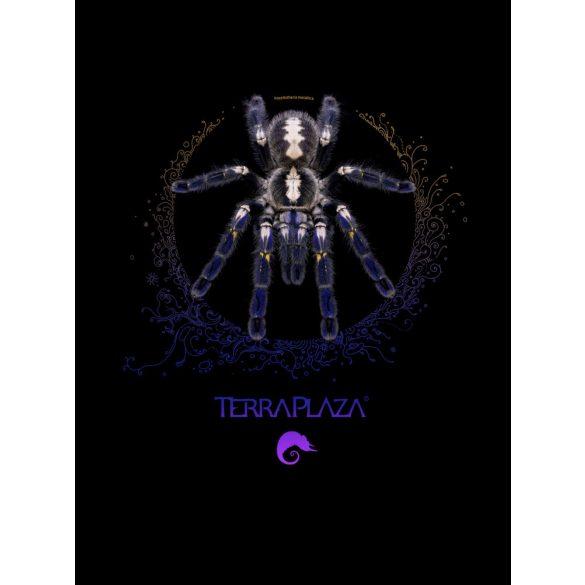 Poecilotheria metallica XXX7 purple logo black gyermek póló
