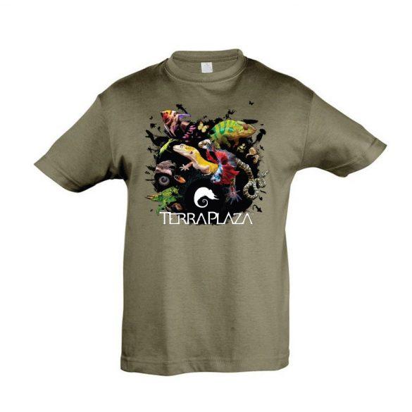 XXX3 montázs army gyermek póló