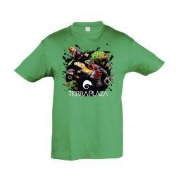 XXX3 montázs green gyermek póló