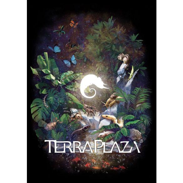 TerraPlaza Jungle XXX8 black gyermek póló