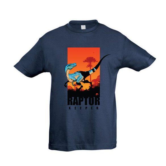 Raptor keeper denim gyermek póló