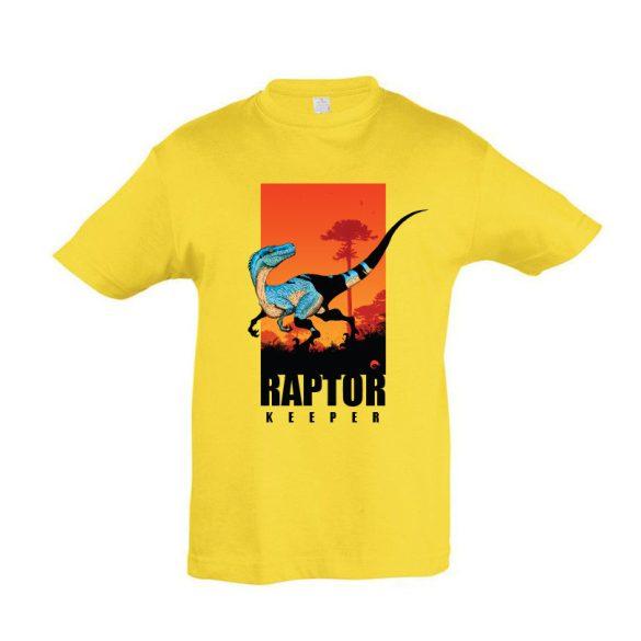 Raptor keeper gold gyermek póló