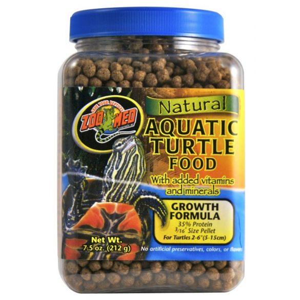 Zoo Med Natural Aquatic teknős táp - Growth Formula 212 g