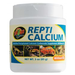 ZooMed Repti Calcium D3 vitamin nélkül 85 g