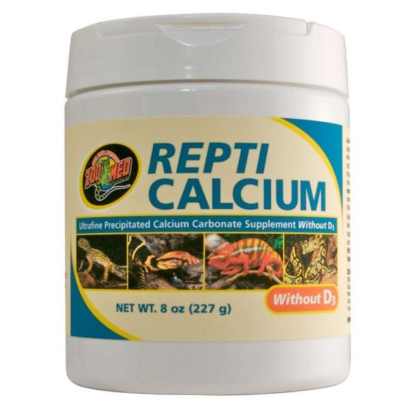 ZooMed Repti Calcium D3 vitamin nélkül 227 g