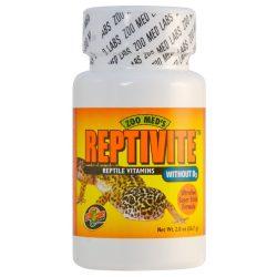 Zoo Med Reptivite hüllővitamin D3 nélkül 57 g