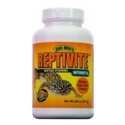 Zoo Med Reptivite hüllővitamin D3 nélkül 227 g