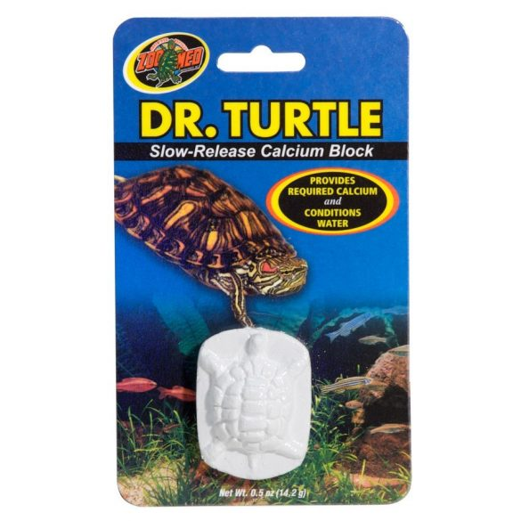 ZooMed Dr. Turtle Slow-Release Calcium BLK 14g/1/Card