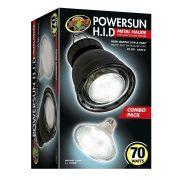 Zoo Med PowerSun™  Powersun Combo HID lámpa & lámpabúra - 70 W