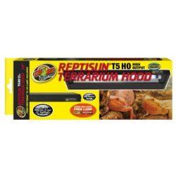 ZooMed ReptiSun T-5 HO terrárium fedél 23-33 cm T5 Reptisun 5.0 esőerdei fénycsővel