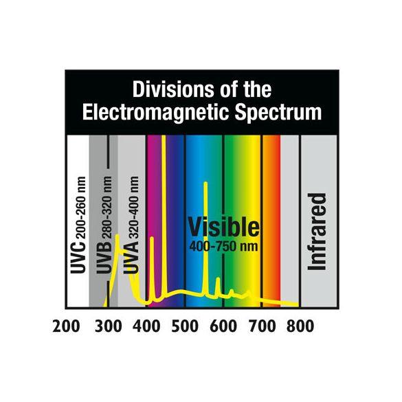 ZooMed Reptisun T5 High Output 10.0 UVB 24 W sivatagi fénycső 550 mm